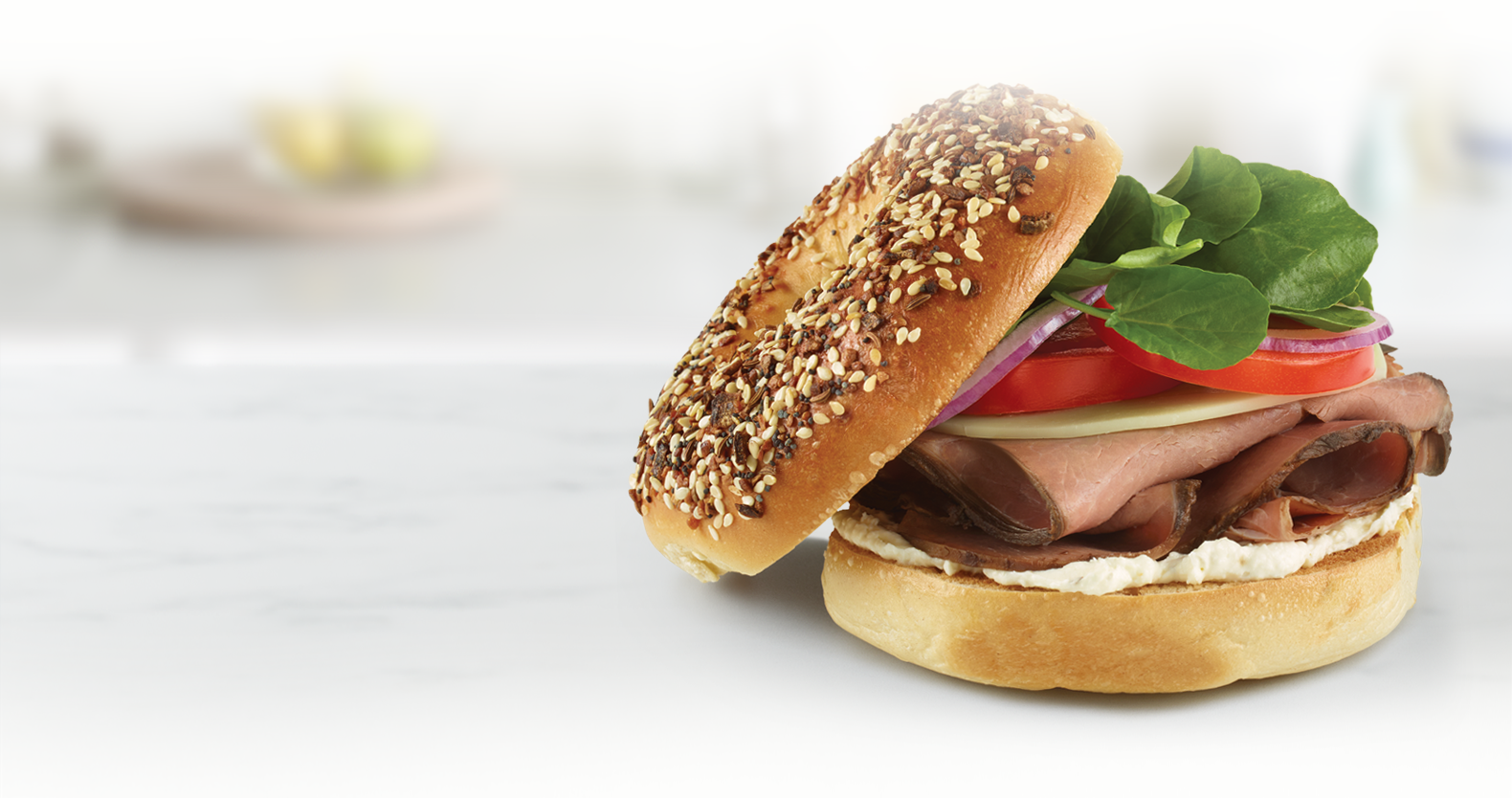 Philly Roast Beef Bagel
