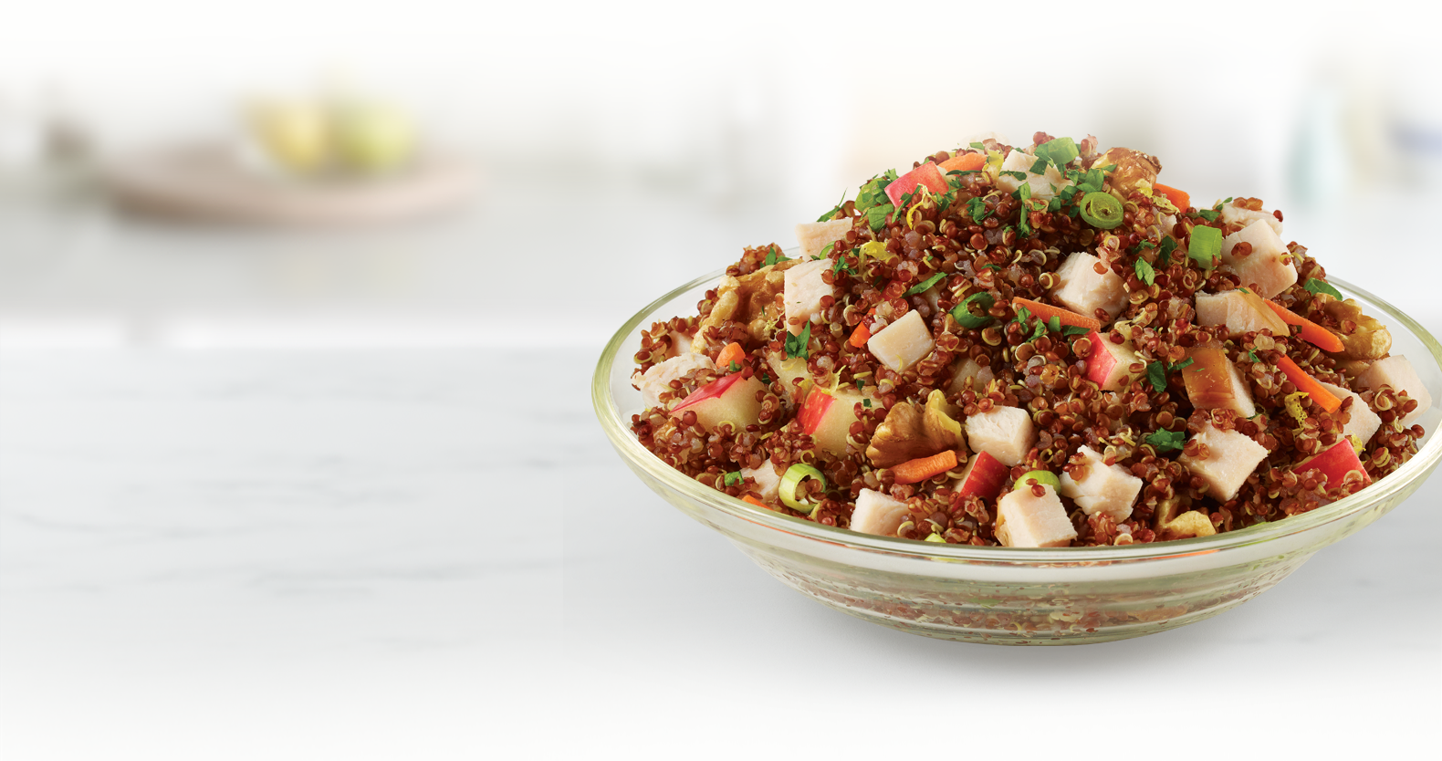 Zesty Quinoa & Turkey Salad